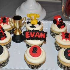 Evan Turns Two! - A Race Car Birthday Party