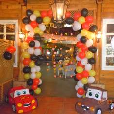 "Daniel's  ""McQueen & Mater"" Party  - Cars"