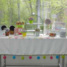 Meredith's Candy Extravaganza - Simple Candy Buffet