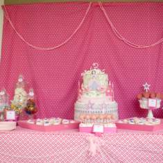 Clara's 3rd Birthday - Pink Princess