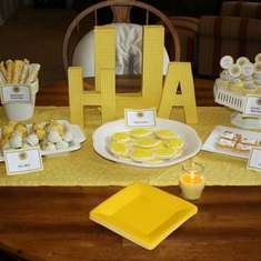 Modern Lemon Bridal Shower - Lemon