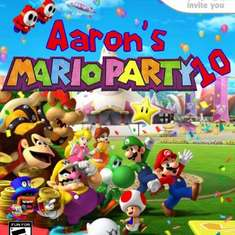 Aaron's 10th Birthday - Super Mario Bros