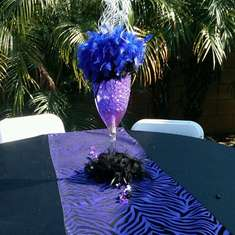 Diva Pre-Prom Party - Purple,Black and Zebra Print