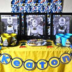 Keaton's 3rd Birthday--Holy Batman! - Super Heroes