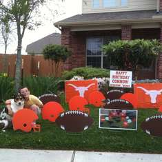 Hook 'Em Birthday - Texas Longhorns