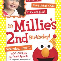 Millie's 2nd Birthday - Polka Dot Elmo