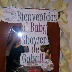 Baby shower para Gaby! - None
