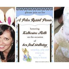 Katherine's 1st Birthday - A Peter Rabbit Picnic