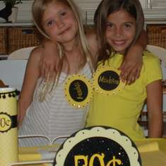 Lemonade Stand party fundraiser - Yellow and black