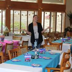 Trisha's Bridal Shower - Blue & Pink