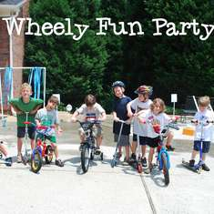 Wheely Fun Party - Bikes and Scooters