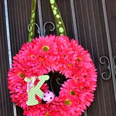 Keira's 2nd Pink Ladybug birthday party! - Pink & green Ladybugs