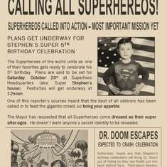 Superhero Birthday - Superheros