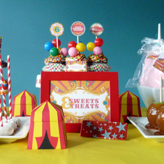 Vintage Carnival Circus  {Inspiration} Birthday Party - Circus/Carnival