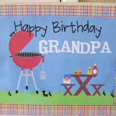 Happy 60th Birthday Grandpa! - BBQ