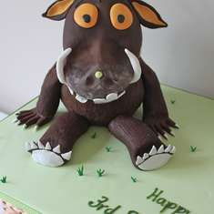 Harry's Gruffalo Feast! - The Gruffalo!