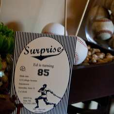 Vintage Baseball 85th Birthday Party - Vintage Baseball