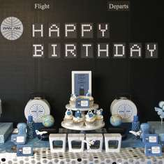 Come Fly Away - Pan Am themed party