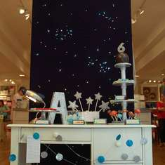 Star Wars/Astronomy Party at Pottery Barn Kids - Space, Star Wars, Astronomy