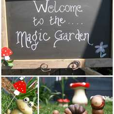Max's first Birthday - Magical Garden