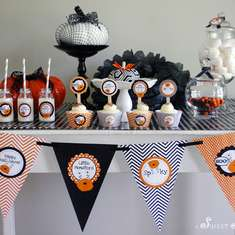 Little Monsters Halloween Dessert Table - Halloween