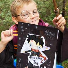 Harry Potter Birthday Party - Harry Potter Themed Boys Birthday Party