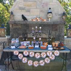 Grown up Halloween party - Halloween Bunco