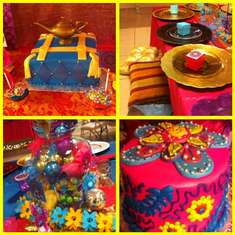 Indian Inspired birthday party - indian, Bollywood, belly dancing, Arabian