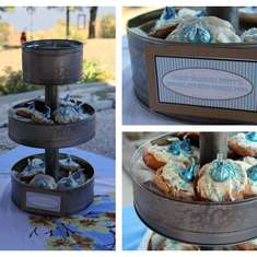 Country Boy Baby Shower - Country Chic
