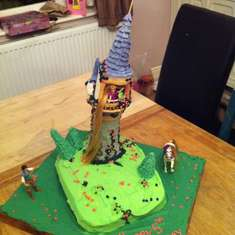 Maisy's 5th birthday - Rapunzel/Tangled