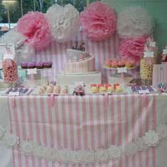 Jessica's Sweet 16 Birthday Party - Candy Stripe