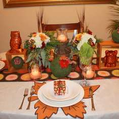 Owl Rustic Thanksgiving Dinner - Owl/Fall