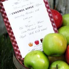 A Caramel Apple Affaire - Fall/Autumn