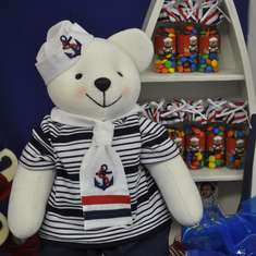 Ian First Birthday - Sailor Bear