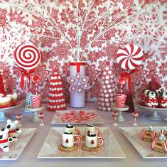 Sweet Dreams Mini Treats - Red & White