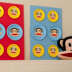 Nina`s 2nd Paul Frank Birthday Party - Monkey