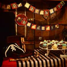 Fourth Birthday Pirate Party - Pirate