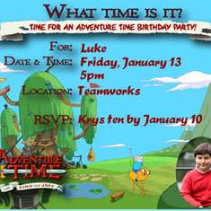 Luke's Big 1-0!! - Adventure Time! With Finn and Jake (and Luke)