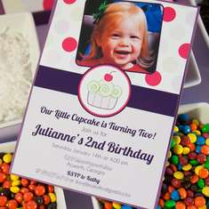 Cupcakes and Polka Dots Birthday - Cupcakes and Polka Dots