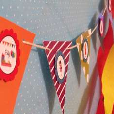 Festive Retro Birthday Party - Vintage/Retro