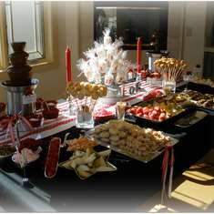 Chocolate Fondue Party - Chocolate Fondue