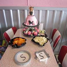 Sophie's Sock Hop 4th Birthday - Sock Hop   50'S Theme