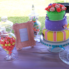 Ashlyn's Butterfly Garden 1st Birthday Party - Butterfly Garden