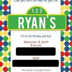 "Ryan's ""Sesame Street"" First Birthday Party - Sesame Street"