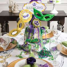 Mardi Gras dinner party - None