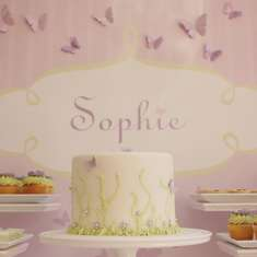 Sophie's 3rd Birthday - Whimsical Butterfly Garden