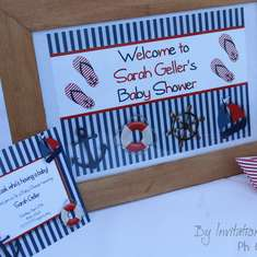 Little Sailor Baby Shower - Little Sailor