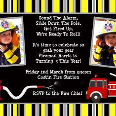 Firefighter Harris turns 3 - Fire Fighter