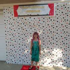 Sheridan's 8th Birthday - Hollywood Glam