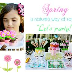 Welcome Spring - Spring Time!